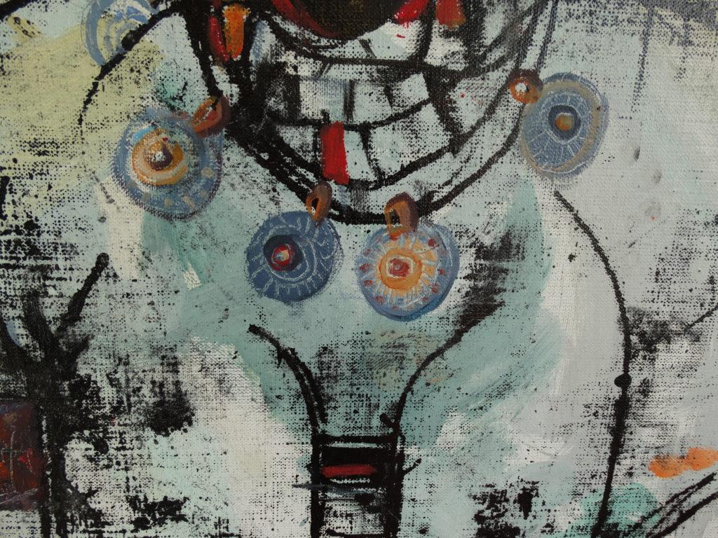 Ukrainian, artwork fragment by Ieva Caruka