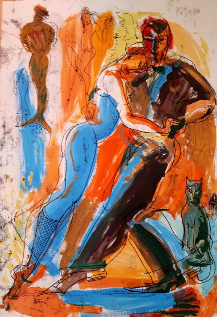 Tango, artwork by Ieva Caruka