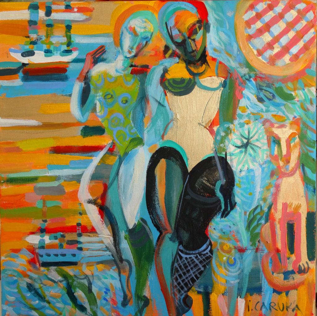 In summer, artwork by Ieva Caruka