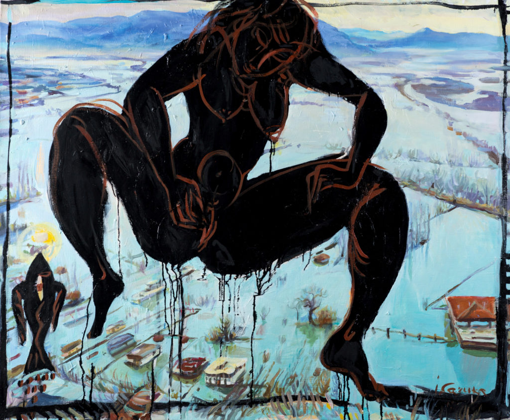 Moist, artwork by Ieva Caruka