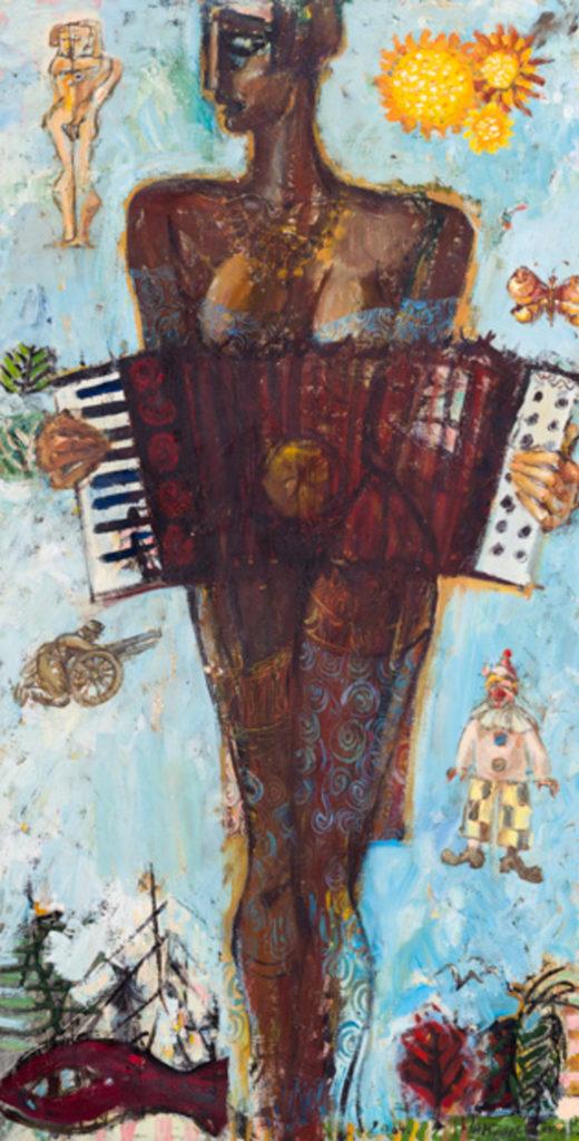 songs, artwork by Ieva Caruka