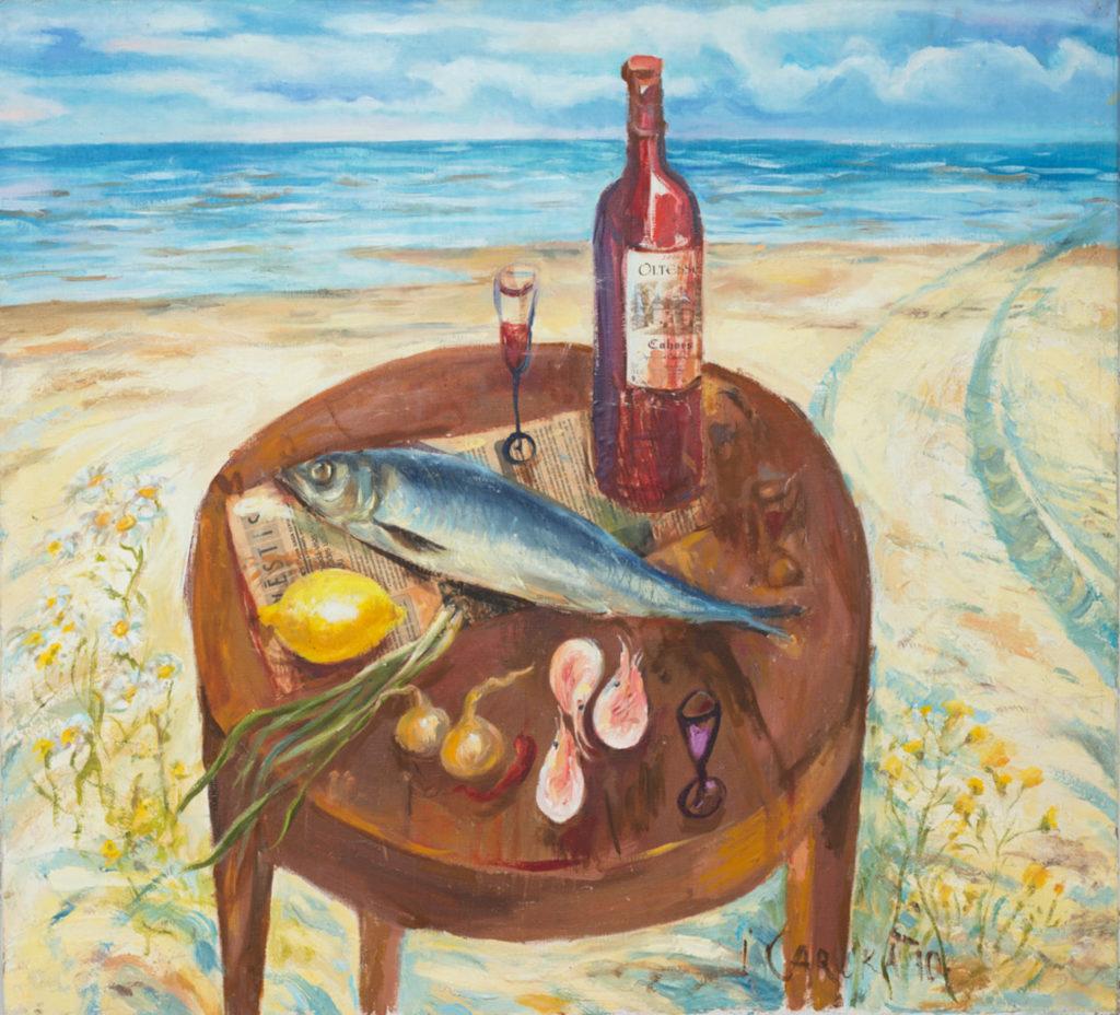 Still life, artwork by Ieva Caruka