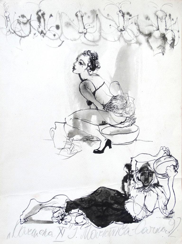 Carmen, artwork by Ieva Caruka