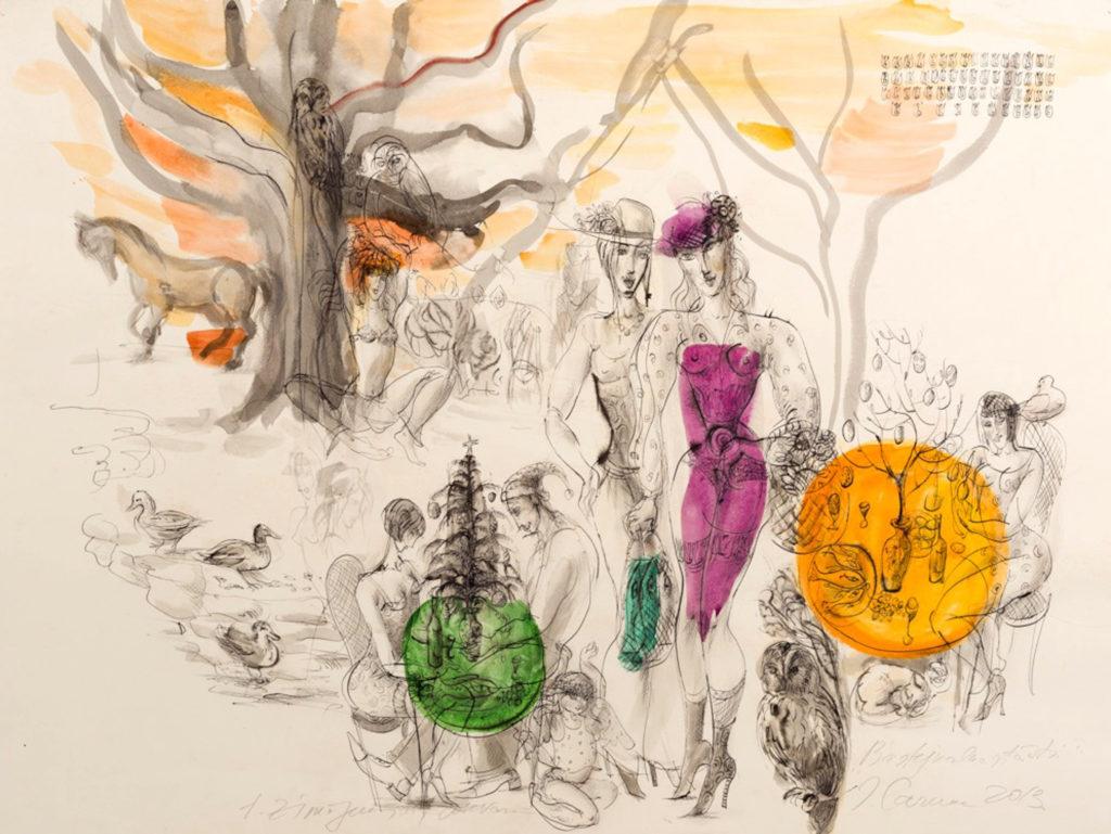 Bastejkalns, artwork by Ieva Caruka