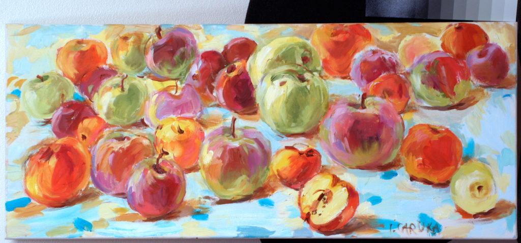 painting by Ieva Caruka