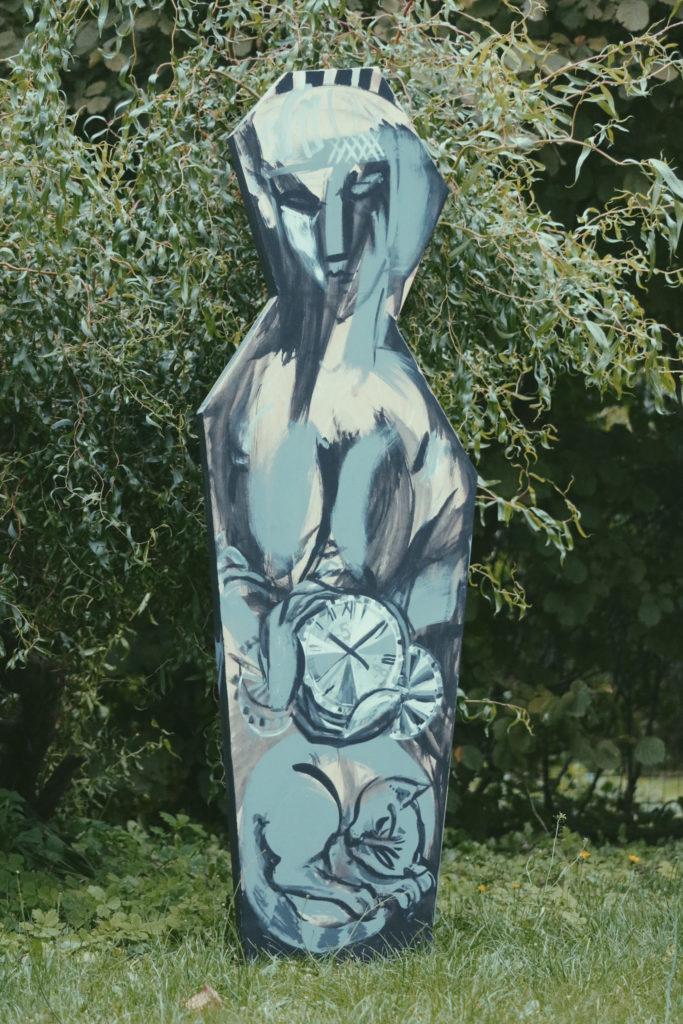 Woman's strength, Artwork by Ieva Caruka