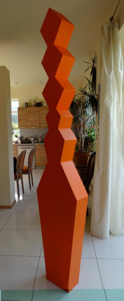 The Orange Goddess. Artwork by Ieva Caruka.