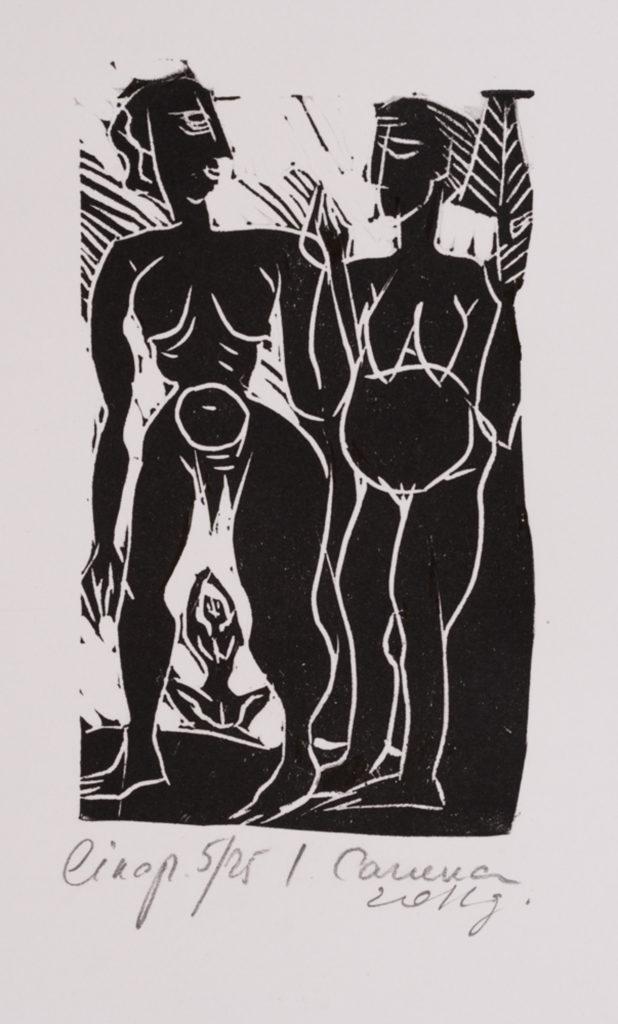 Converstation, artwork by Ieva Caruka
