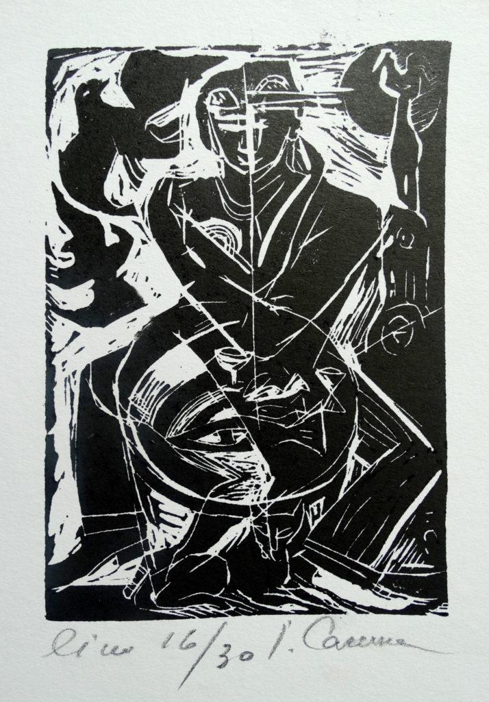Couple, artwork by Ieva Caruka