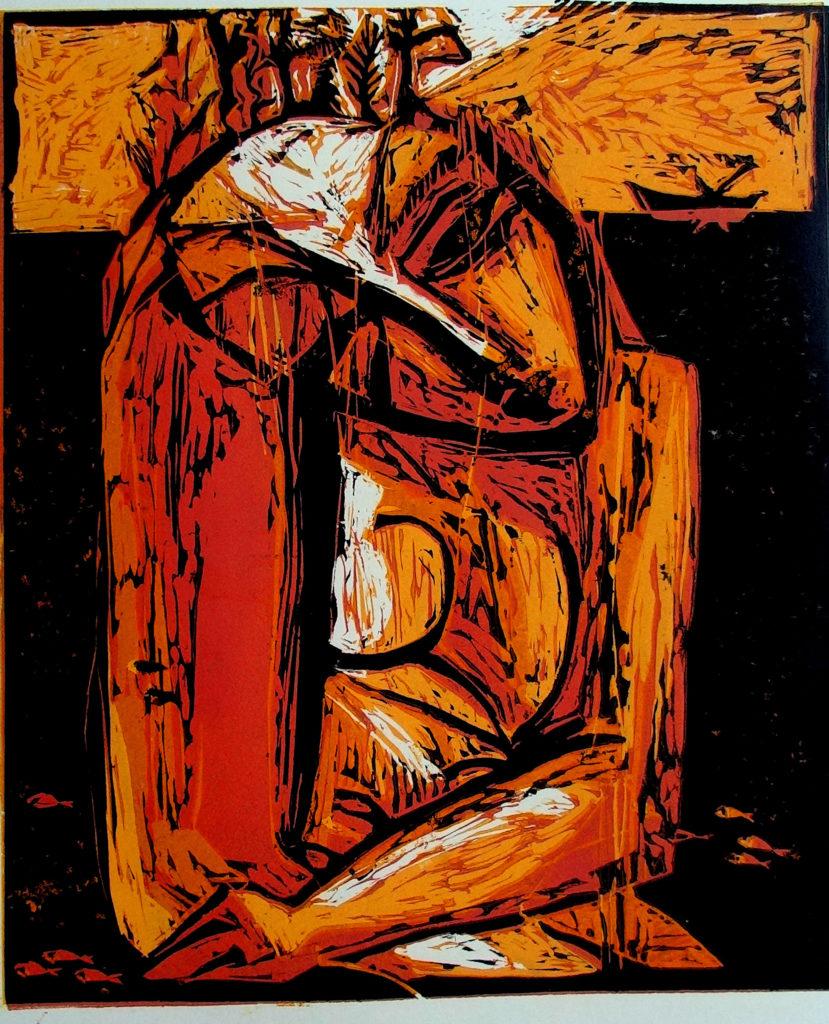 Staburadze, artwork by Ieva Caruka