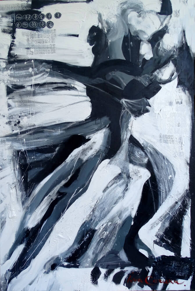 Dance n 5, artwork by Ieva Caruka